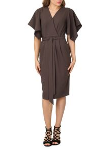 Izabel London Kimono Wrap Dress