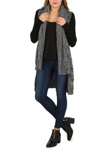 Izabel London Shawl Effect Cardigan