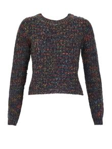 Izabel London Multi-Coloured Knitted Pullover