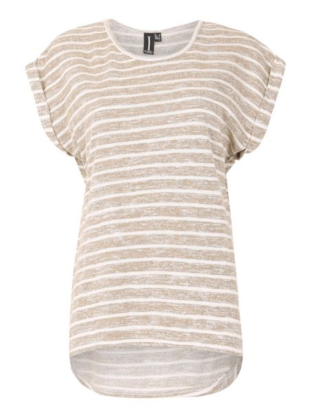 Izabel London Horizontal Stripe T-Shirt