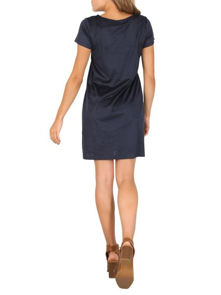 Izabel London Faux Suede Shift Dress