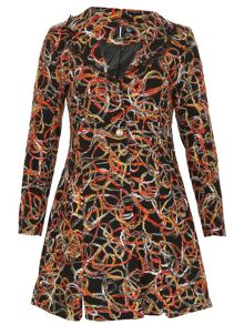 Izabel London Twine Twirl Coat