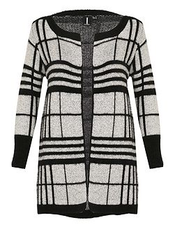 Soft Touch Checked Coat