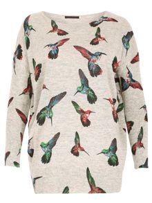 Humming Print Jumper