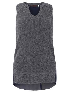 TENKI Sleeveless Knitted Top