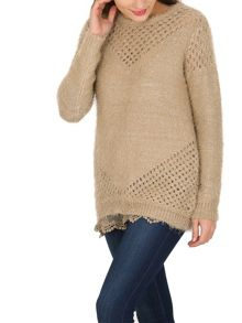 TENKI Sequin Embellished Knitted Jumper
