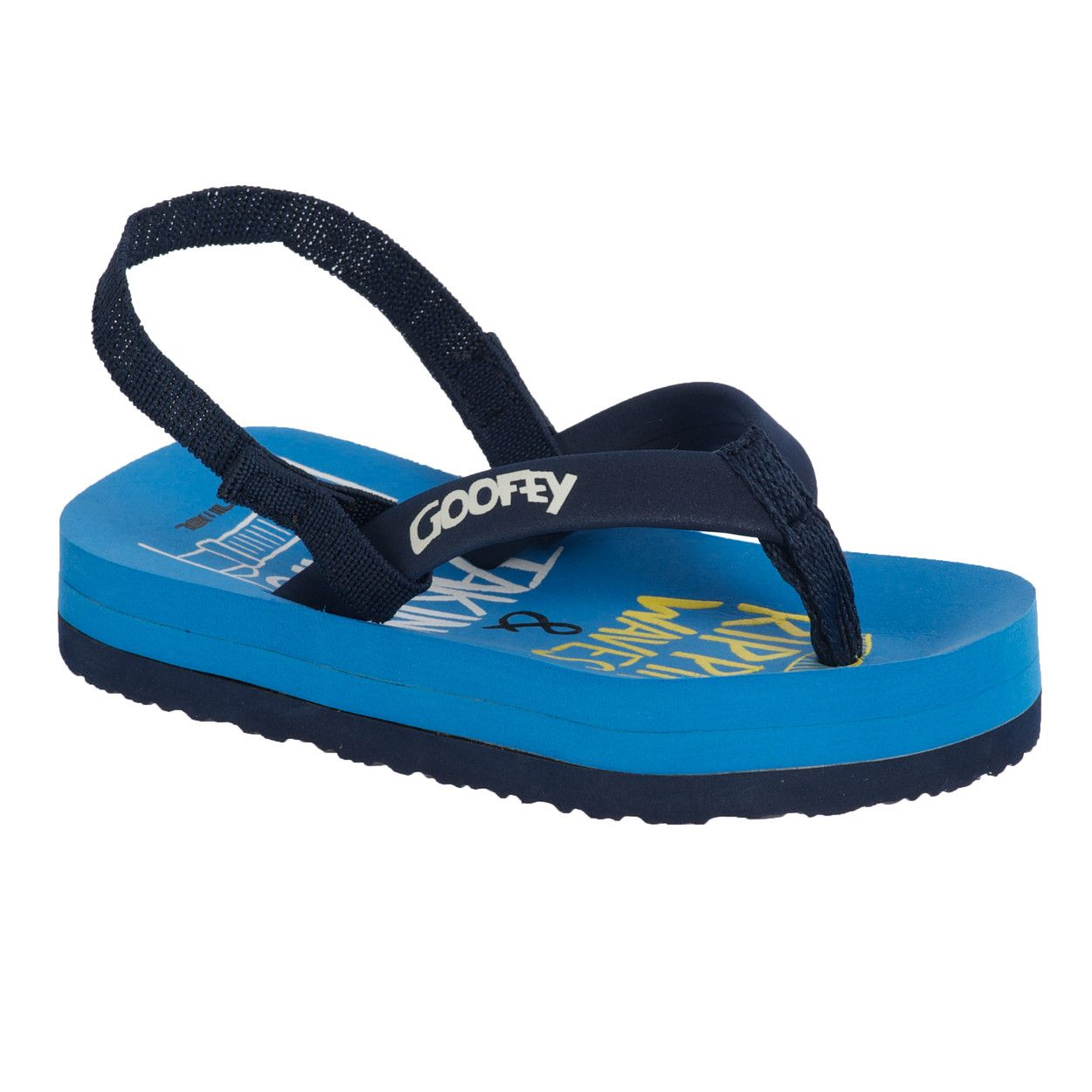 Boy`s goofey infant flip flops