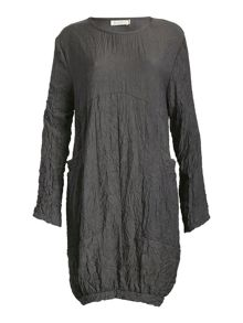 Creased Long Sleeve Tunic