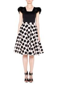 Full Circle Polka Dot Skirt