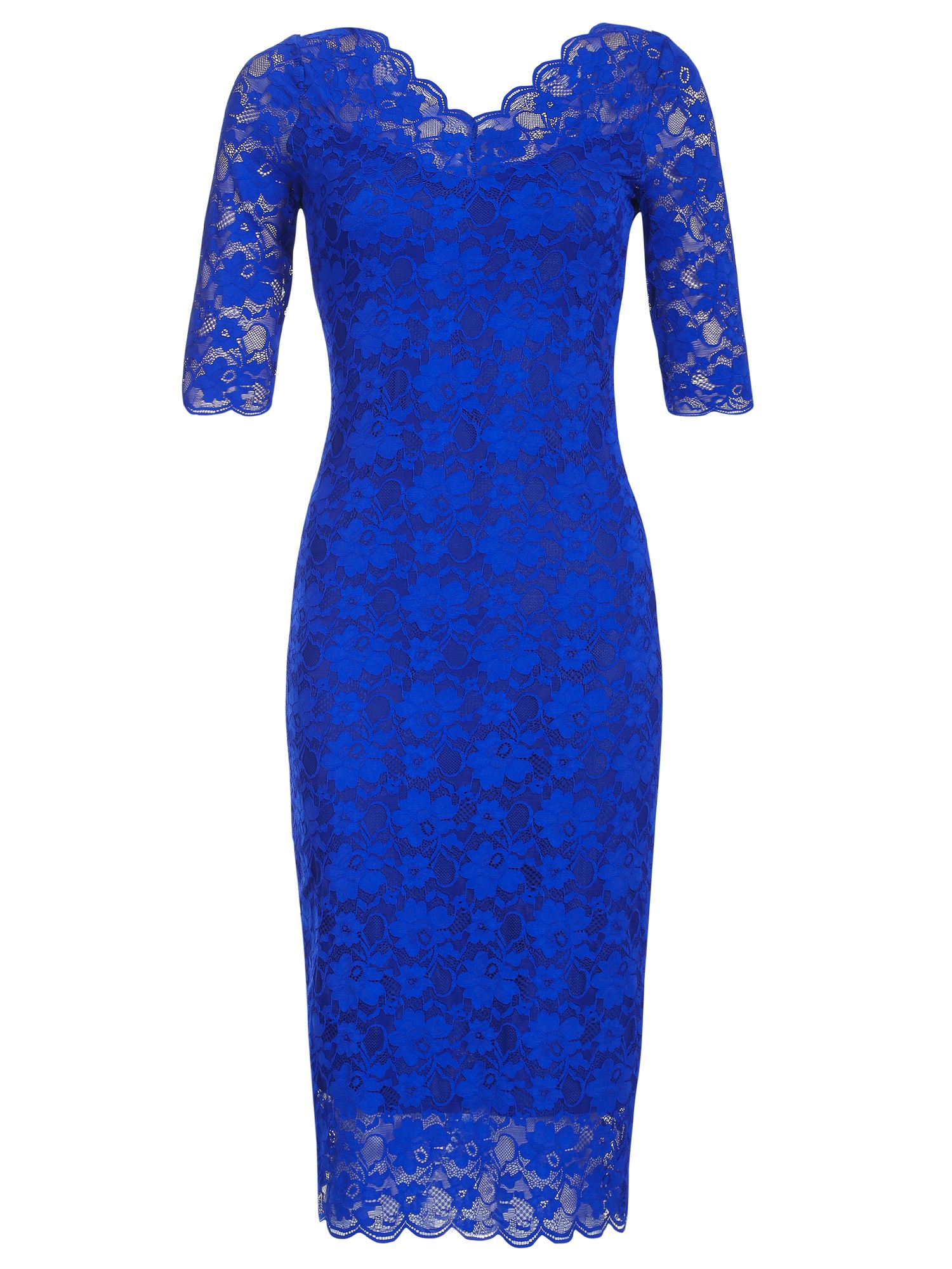 Royal Blue Lace Dress :: House of Fraser