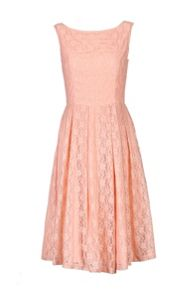 Jolie Moi 50s Fit & Flare Lace Dress