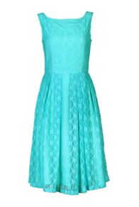 50s Fit & Flare Lace Dress