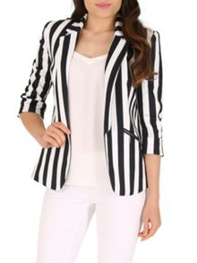 Jolie Moi Smart Office Open Front Blazer