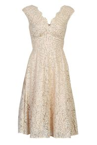 Jolie Moi Lace Sequins V Neck Prom Dress