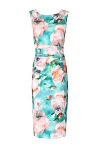 Jolie Moi Floral Printed Shift Dress