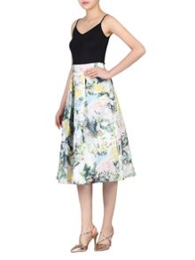 Jolie Moi 3D Double Layered A-Line Skirt