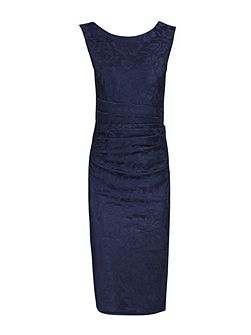 Lace Bonded Bodycon Dress