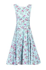 Jolie Moi 50s Wrap Belt Full Circle Dress