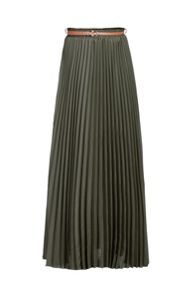 Jolie Moi Pleated Maxi Skirt
