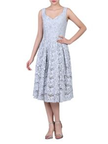 Jolie Moi Sweetheart Neck 50s Lace Dress