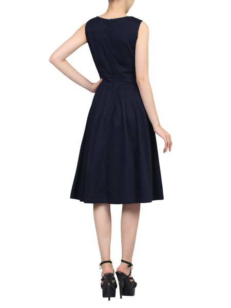 Jolie Moi Pleated 50s Dress