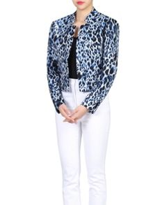 Jolie Moi Leopard Print Light Jacket