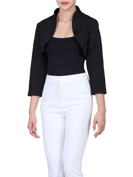 Jolie Moi High Collar  Bolero Jacket