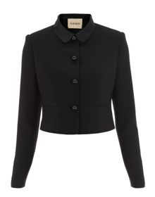Havren Satin Collar Jacket