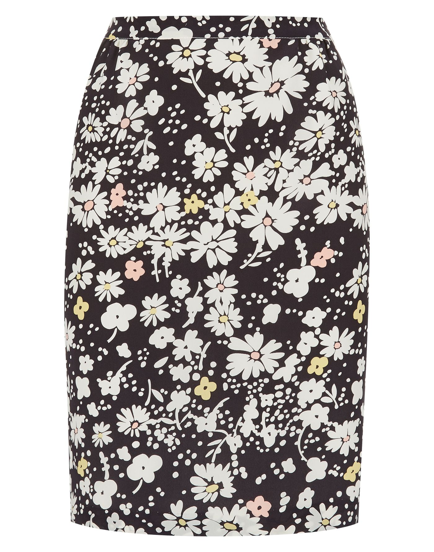Daisy Field Print Skirt