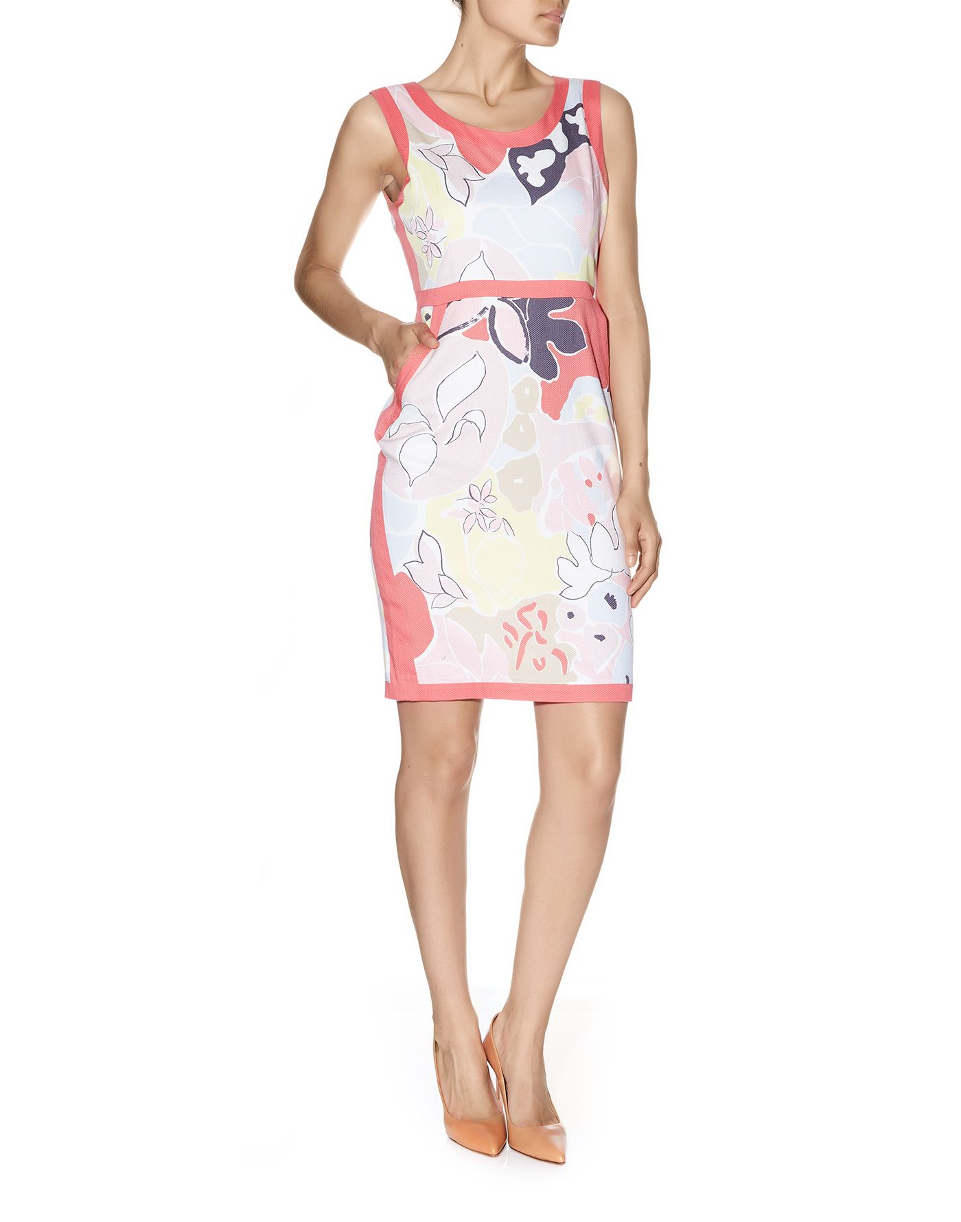 Matisse Print Contrast Dress