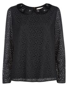 Havren Lace Embellished Top