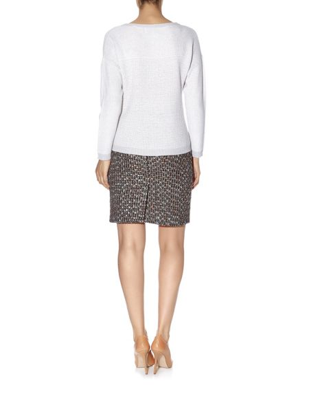 Havren Multi Textured Jumper