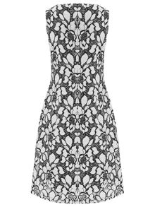 Havren Evelyn Embroidered Dress