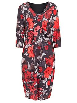 Lucy Bold Floral Dress
