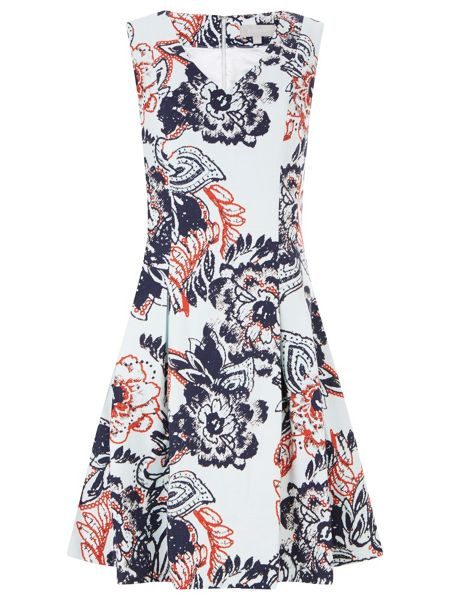 Havren Michelle Fit and Flare Dress