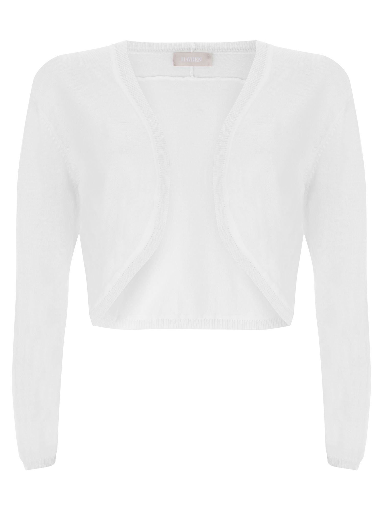 Havren Bella Shrug White
