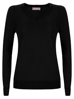 Lydia V Neck Jumper