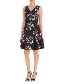 Havren Delilah Fit and Flare Dress