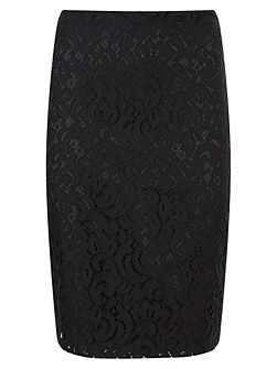 Lulu Lace Pencil Skirt