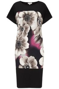 Havren Printed Shift Dress