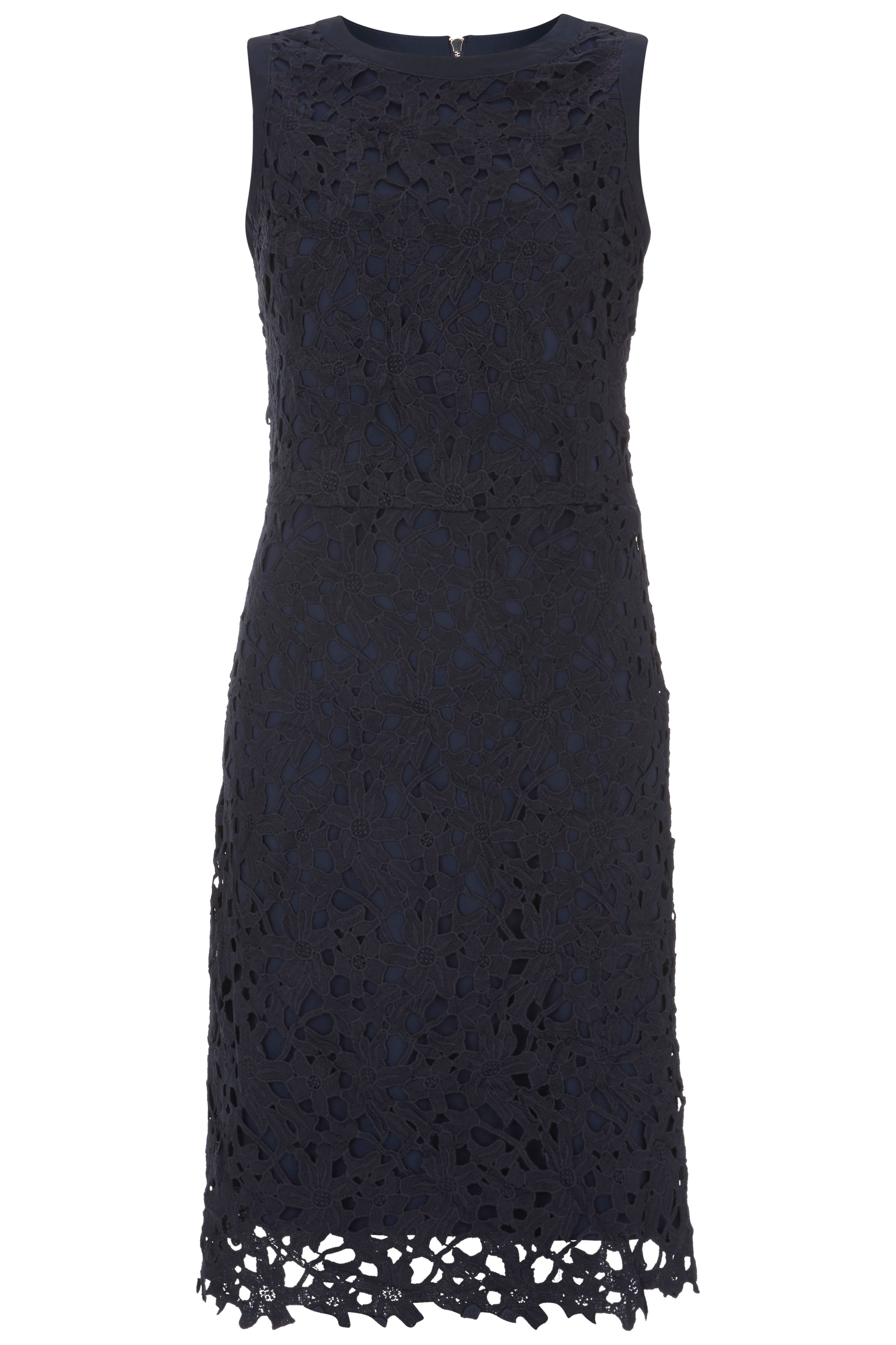 Havren Abby Lace Dress, Blue