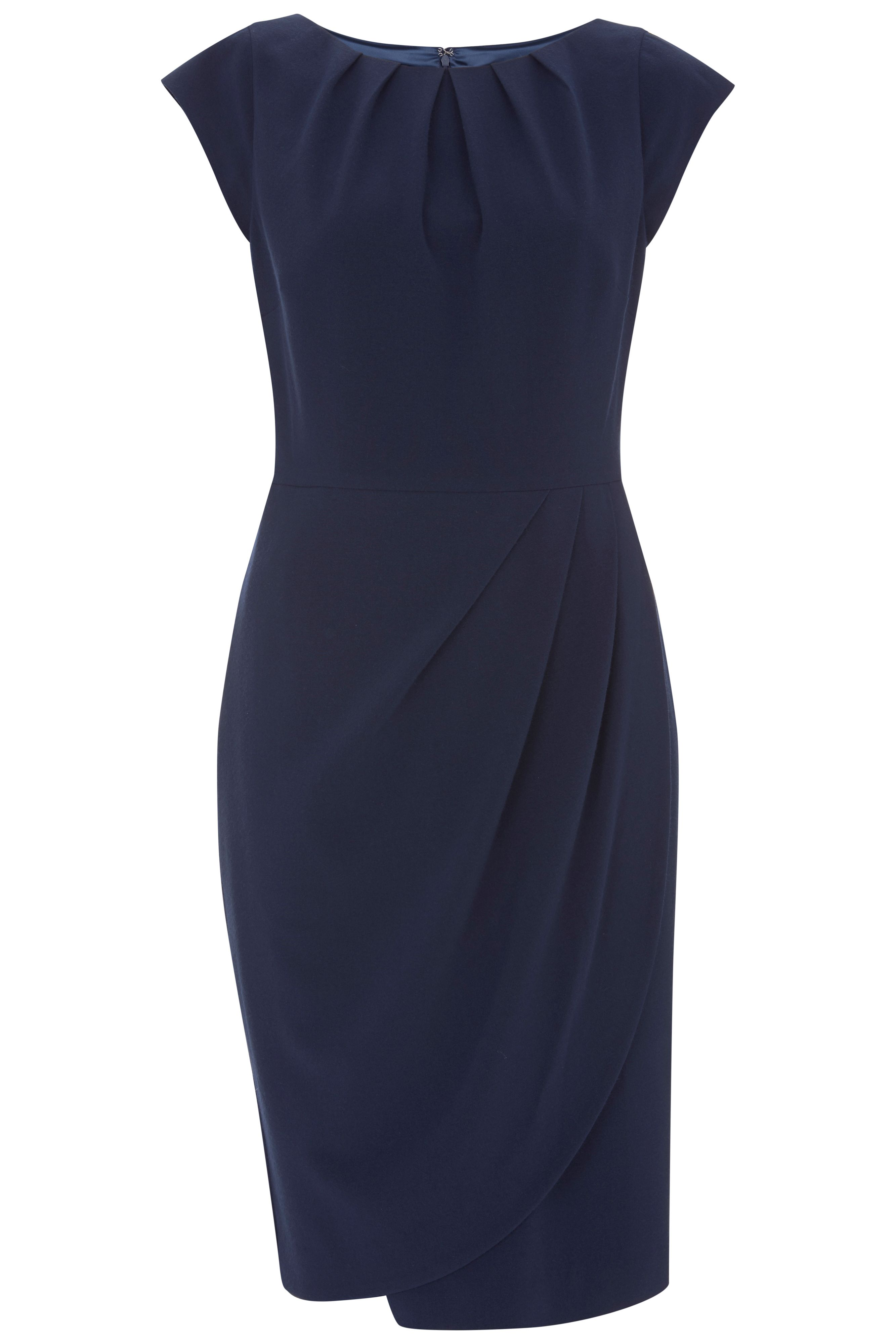 Havren Rosalyn Tulip Dress Navy