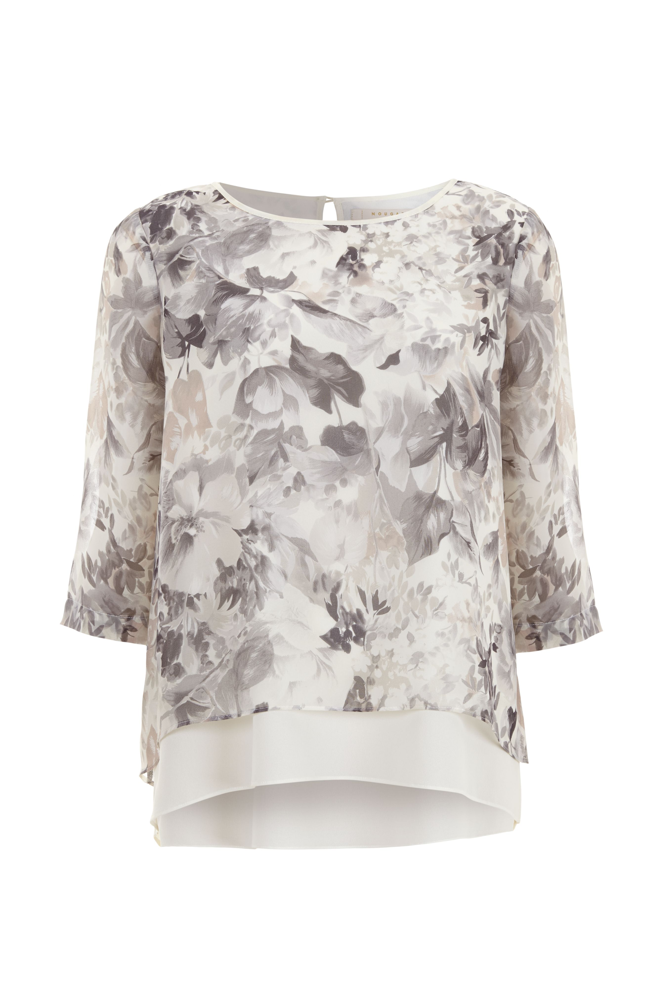 Jessie Print Layer Top