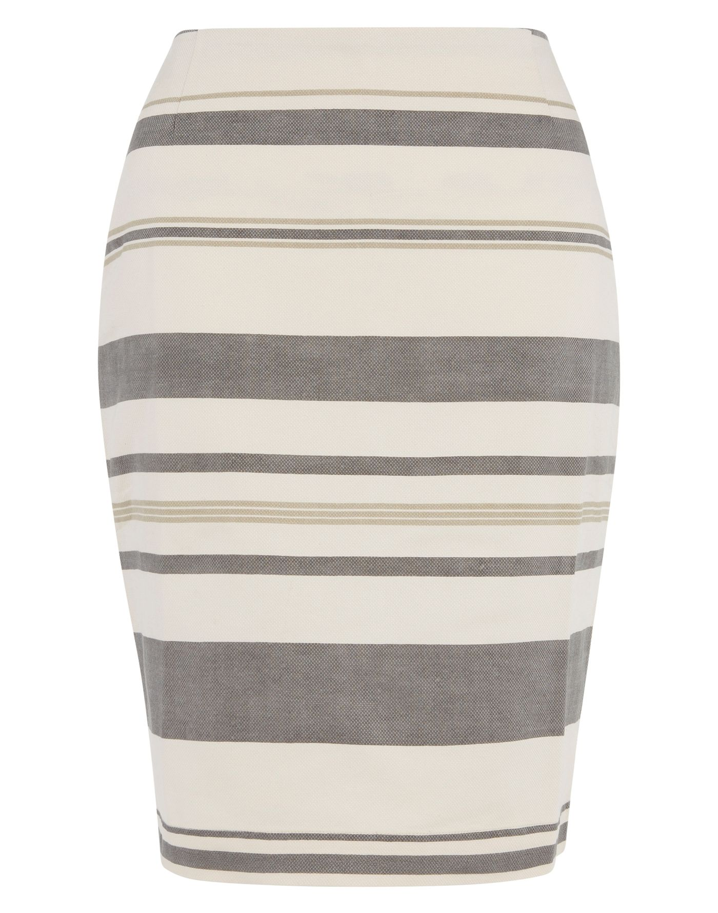Betty stripe print skirt