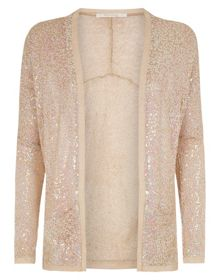 All over sequin cardigan
