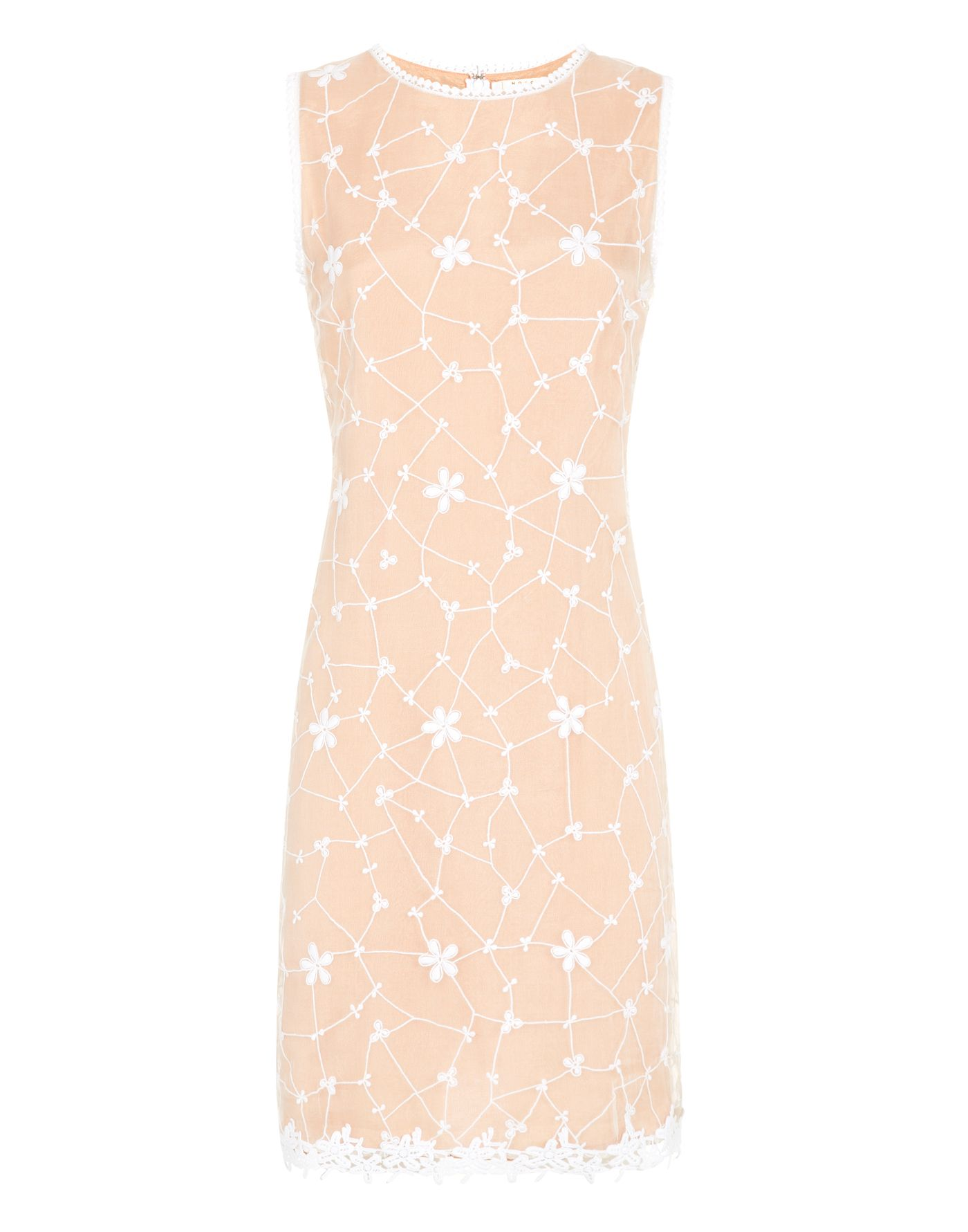 All over embroidered dress