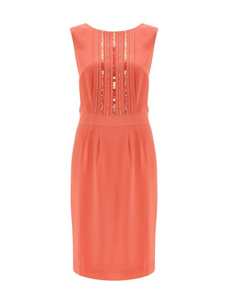 Nougat London Silk Embellished Dress