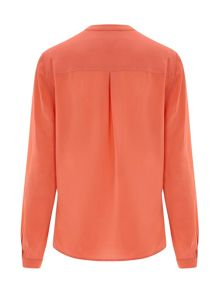 Nougat London Silk Long Sleeve Blouse