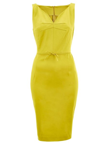 Nougat London V Neck Stretch Dress