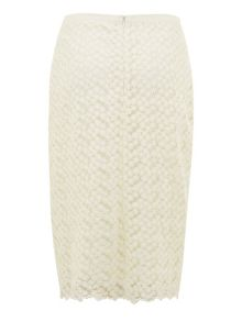 Nougat London Lace Pencil Skirt